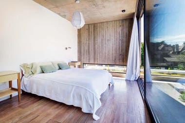 Mucha luz y vista a los estanques. ¿Qué más se puede pedir en un dormitorio?Crédito: Jeremías Thomas, gentileza BAM! Arquitectura