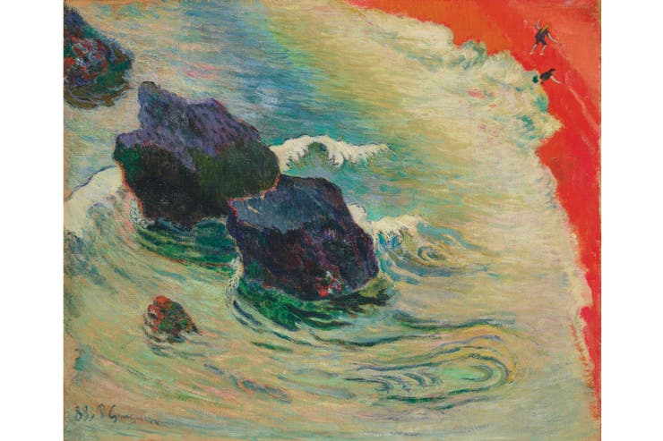 La Ola, de Paul Gauguin