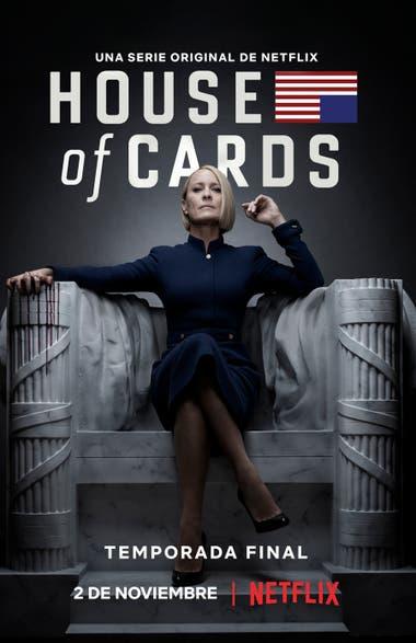 El afiche oficial de la sexta temporada de la serie que explora las trampas y los vericuetos de la política estadounidense