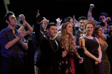 El elenco de Lo quiero ya, el Mejor Musical Off