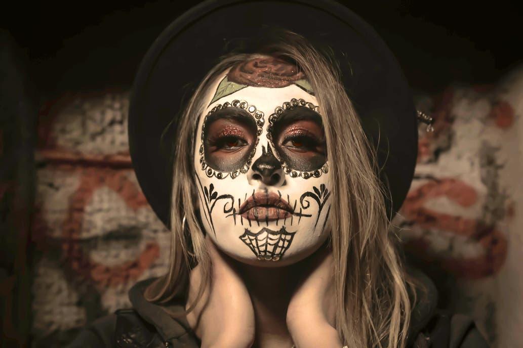 Maquillaje de disfraz de Halloween