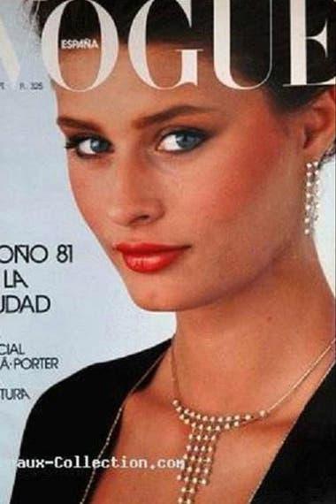 Una de las portadas de Vogue con Nastasia Urbano
