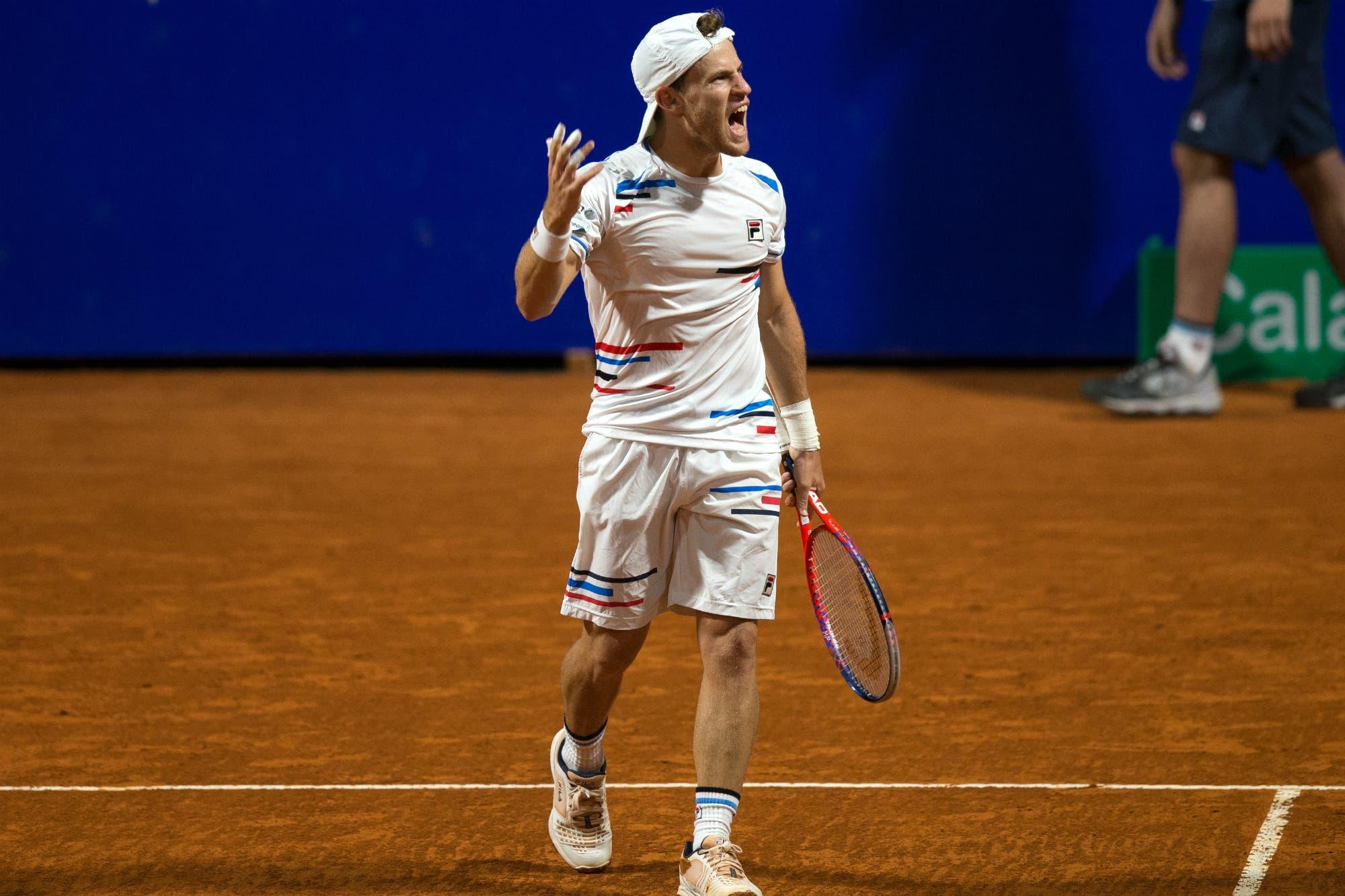 Argentina Open: Diego Schwartzman ganó y se enfrentará en las semifinales con Dominic Thiem