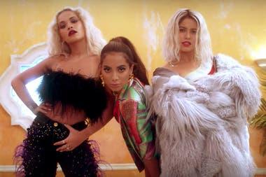 Qué Trío Escuchá El Nuevo Tema De Sofía Reyes Anitta Y Rita Ora