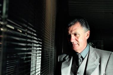 Avilés en una entrevista con LA NACION en septiembre de 1998