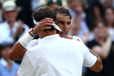 Nadal y Federer se enfrentaron por última vez en las semifinales de Wimbledon 2019, con un triunfo del suizo.