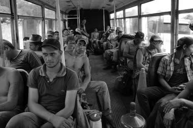 Micro de tareferos, Misiones