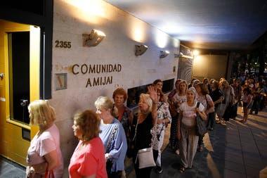 Sinagoga de la Comunidad Amijai, en Belgrano