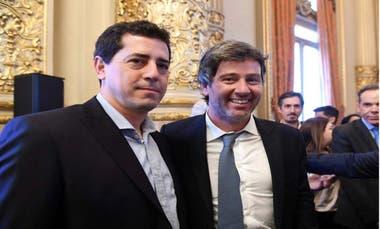 En octubre pasado Wado De Pedro -ahora ministro del Interior- estuvo en la jura de Juan Bautista Mahíques como fiscal general de la ciudad de Buenos Aires; el funcionario es foco de acusaciones de Cristina Kirchner