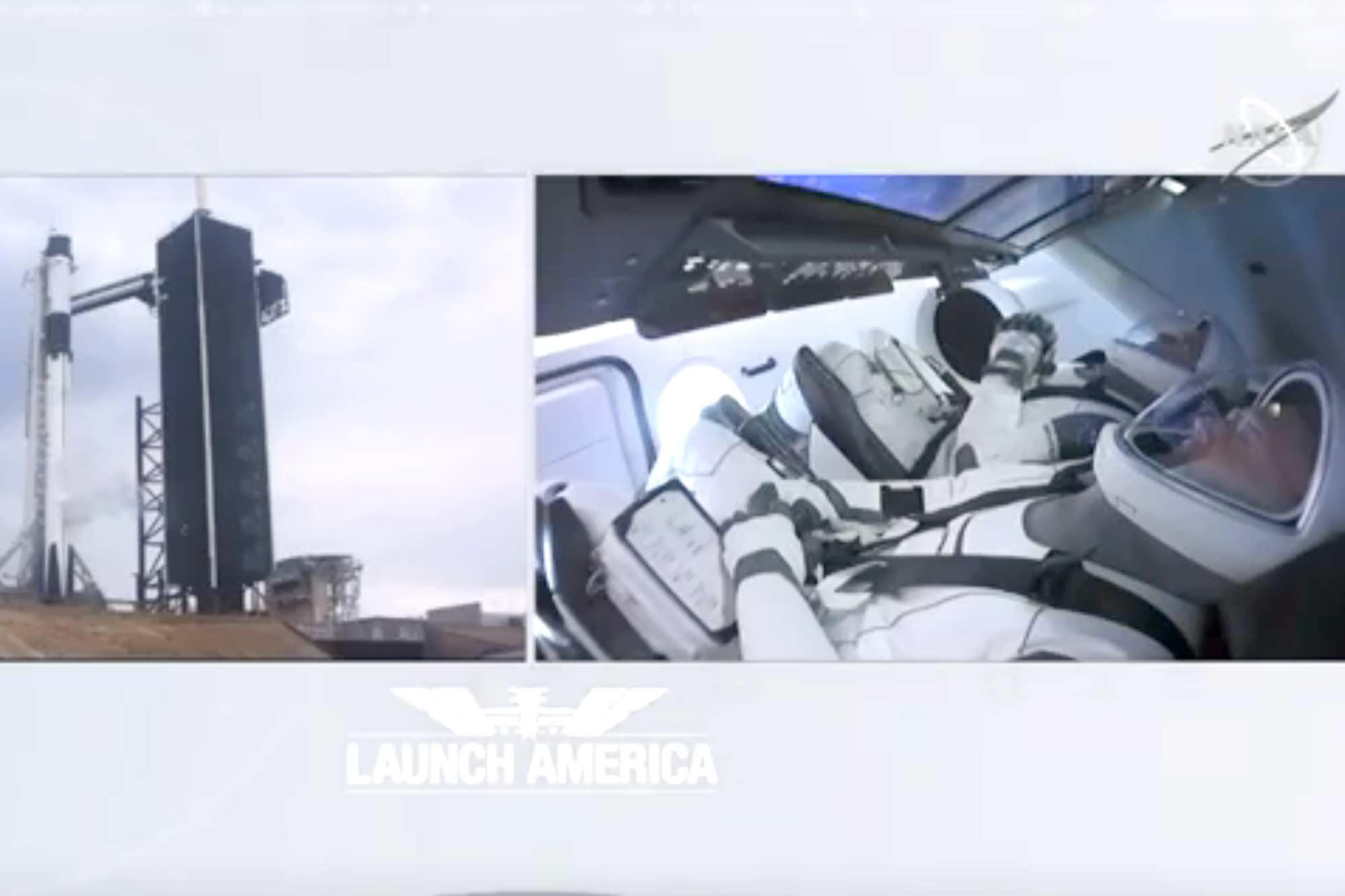 SpaceX y NASA - en vivo: el lanzamiento del Crew Dragon, minuto a minuto