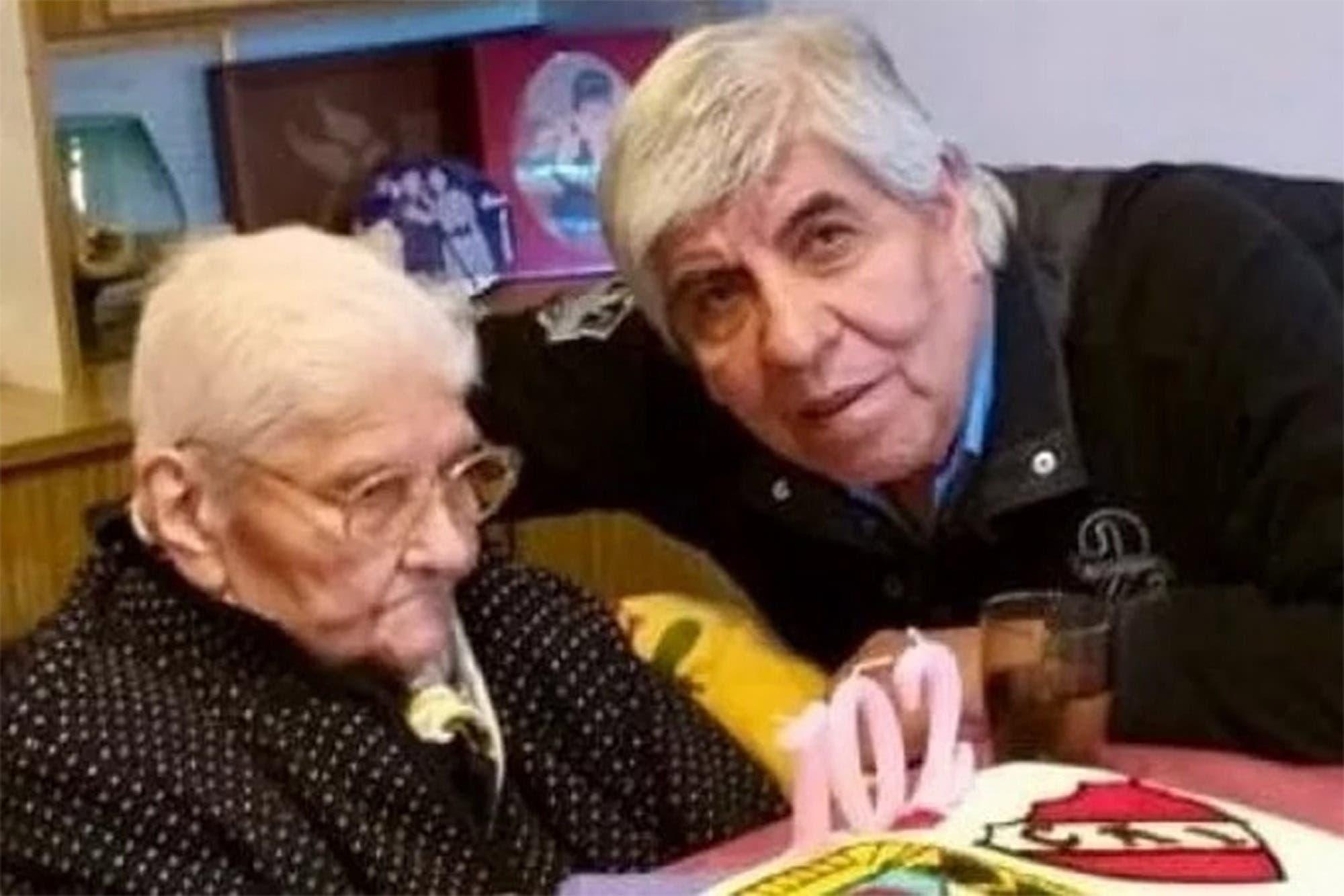 A los 102 años, murió la madre de Hugo Moyano