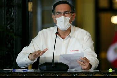 El presidente Martín Vizcarra anunció el 1 de julio en televisión el desconfinamiento gradual