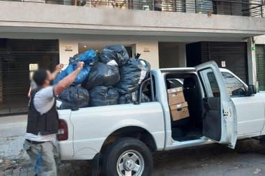 La mercadería secuestrada (4.577 prendas en 139 bultos) está valuada en el mercado en alrededor de 5.400.000 pesos