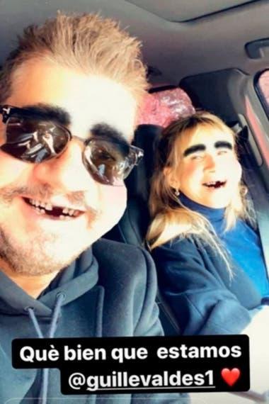 El conductor suele utilizar sus historias en Instagram para difundirnovedades de su relación con la modelo y actriz