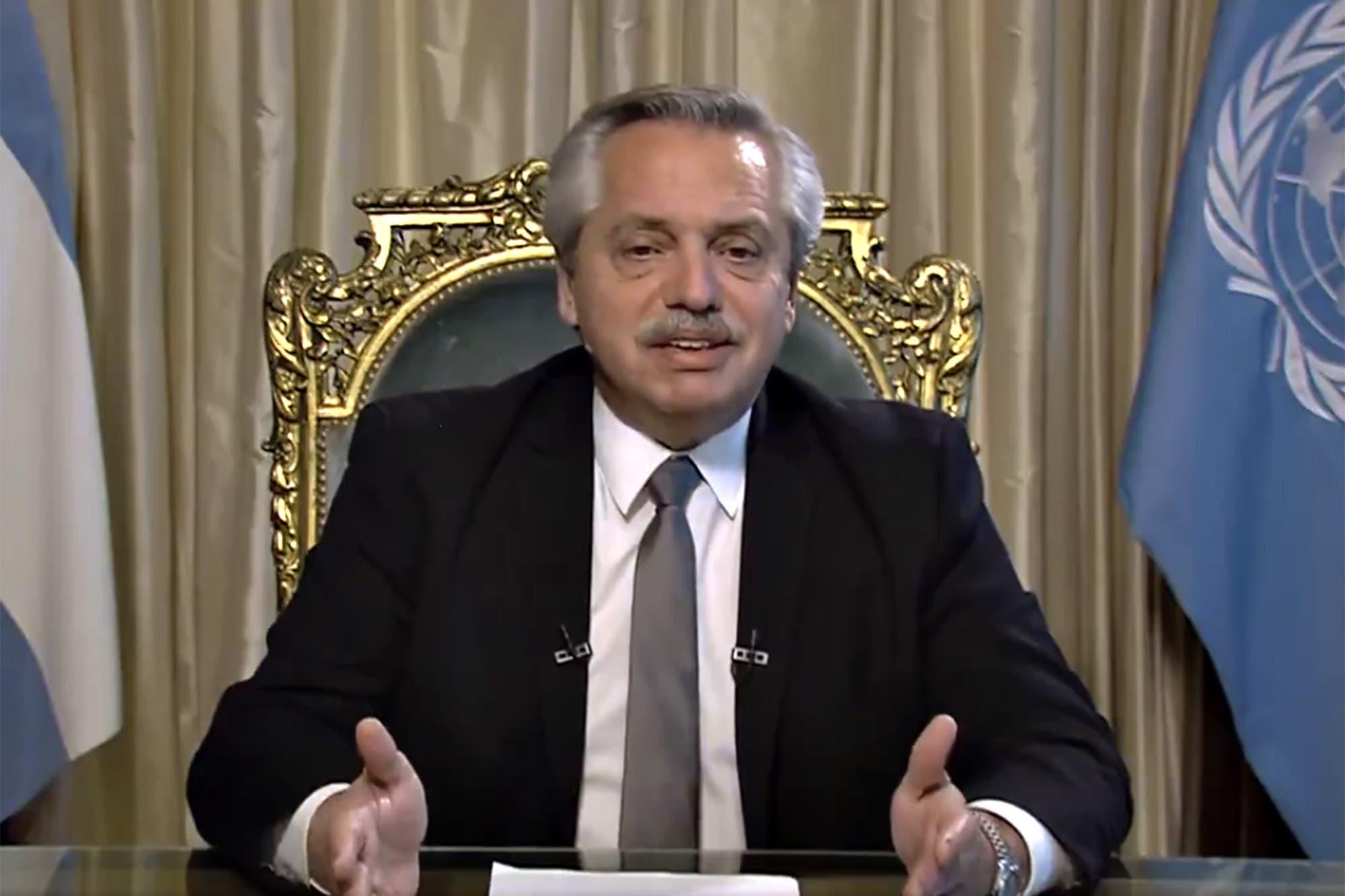 """Alberto Fernández criticó a la Corte Suprema y se preguntó: """"¿Qué es lo que está buscando su presidente?"""""""
