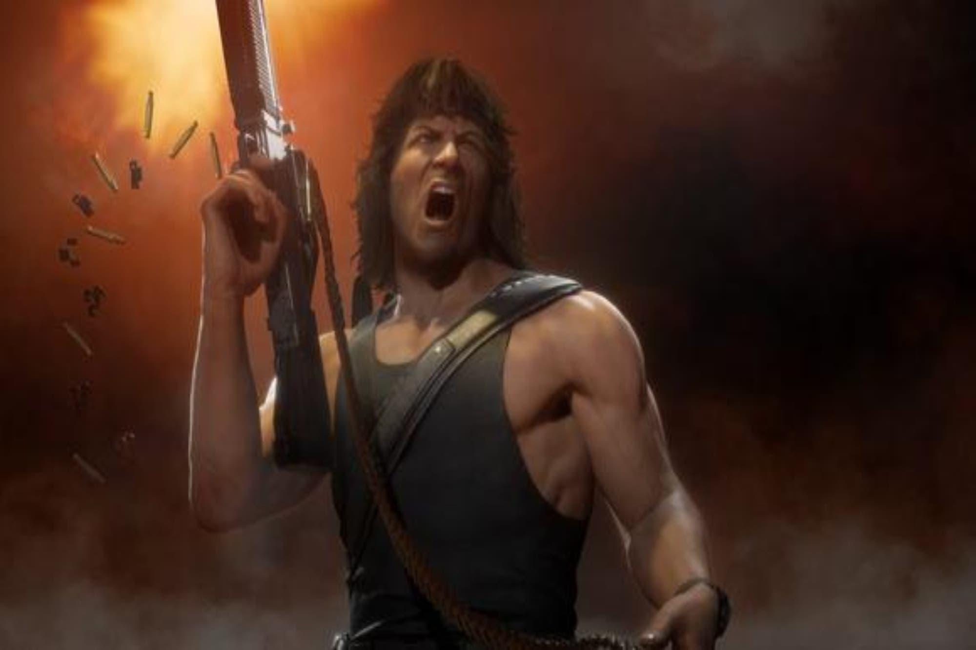 Mortal Kombat 11: Rambo se suma al videojuego que se lanzará en noviembre