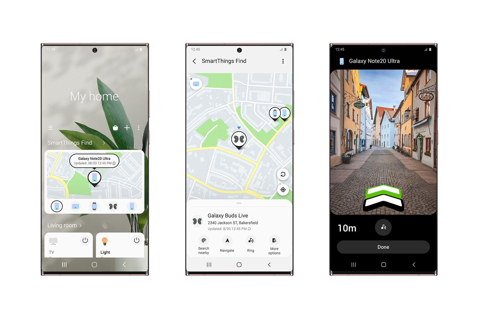 SmartThings Find: Samsung lanza su app para encontrar dispositivos Galaxy con Bluetooth de baja energía y banda ultraancha