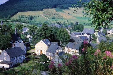 El pueblo de Oberkirchen también es famoso por sus juicios de brujas, incluido el de Christine Teipel, de 9 años