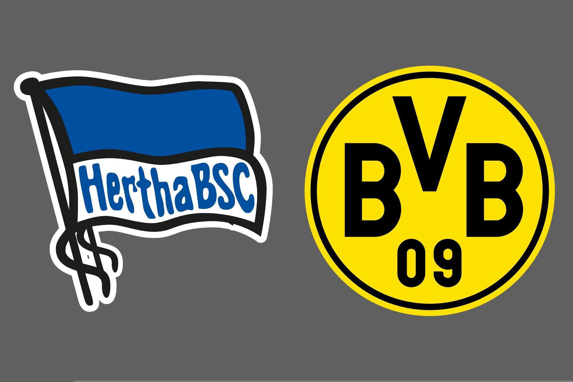 Bundesliga de Alemania: Borussia Dortmund venció por 5-2 a Hertha Berlin como visitante