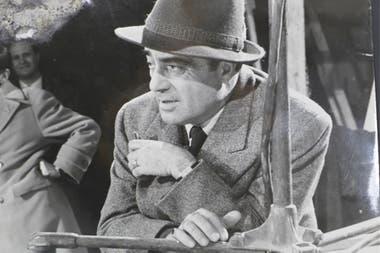 Giuseppe Amato, durante el rodaje
