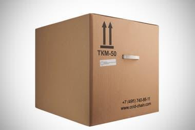 Un modelo de caja contenedora con refrigeración para preservar las vacunas a -18 grados
