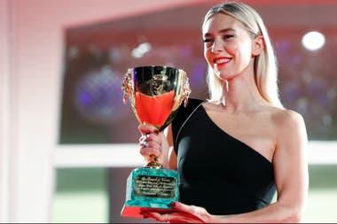 En la última edición del Festival de Venecia, donde obtuvo la Copa Volpi a mejor actriz por el film de Kornél Mundruczó que llegó a Netflix este mes