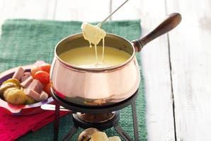 Fondue de queso para compartir