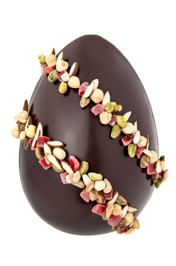 Receta de Huevo de Pascuas de chocolate belga