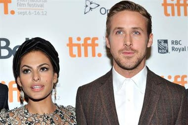 Eva Mendes  y Ryan Gosling, una pareja con sello Hollywood