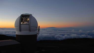 Resultado de imagen de el telescopio Pan-STARRS, en Hawái