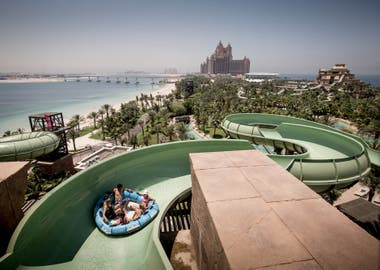 Los parques y las playas de Dubai llaman la atención