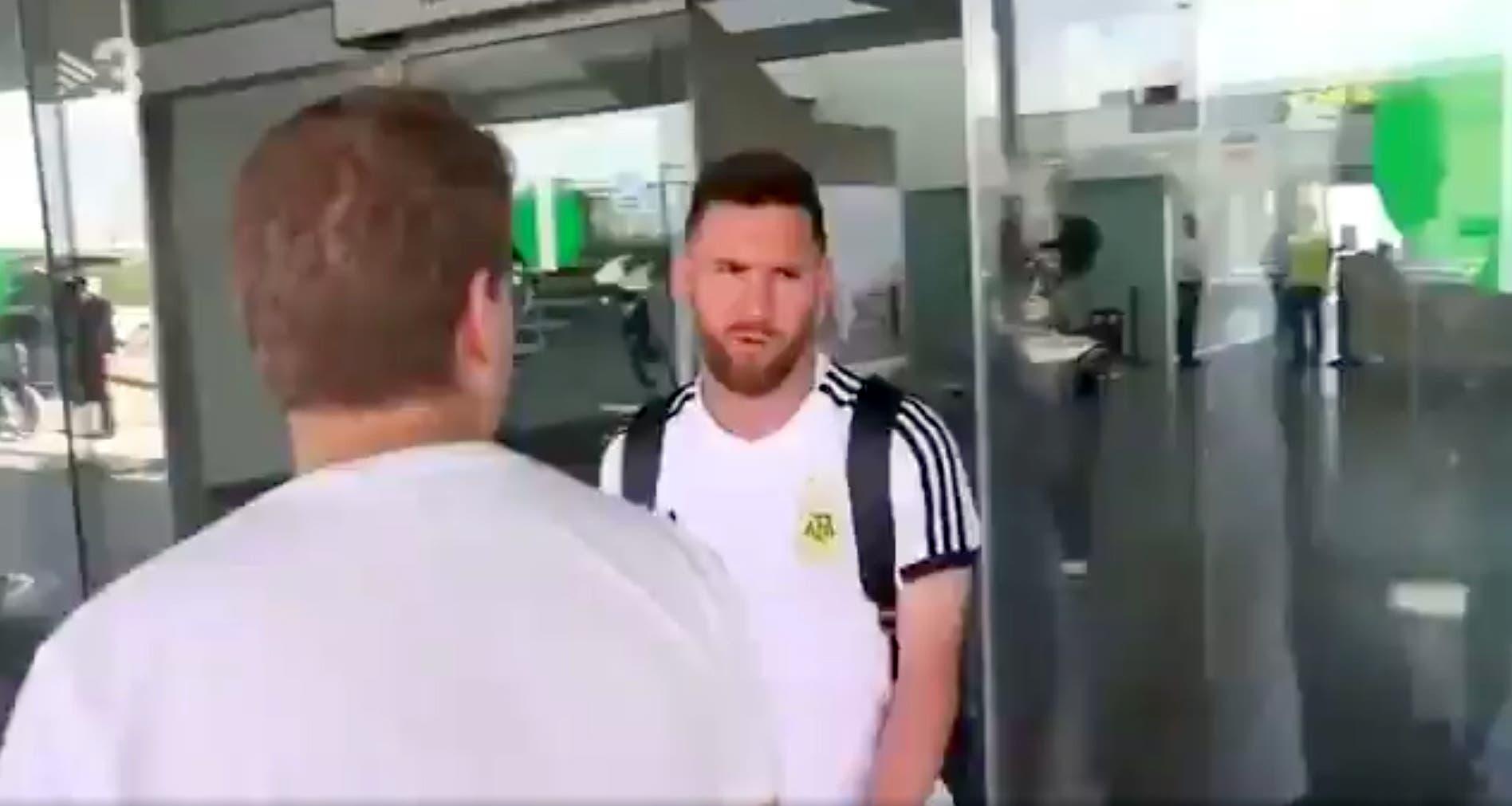 Rusia 2018: Messi llegó a Barcelona después de la eliminación ante Francia