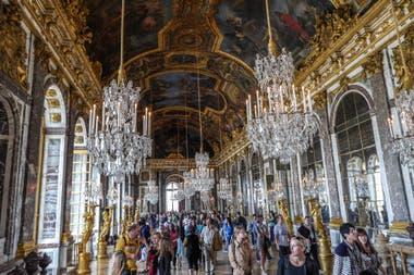 Uno de los salones del Palacio de Versalles