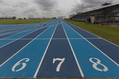 La pista de atletismo del Parque Olímpico