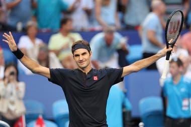 Federer guió a Suiza a la obtención de la Copa Hopman.