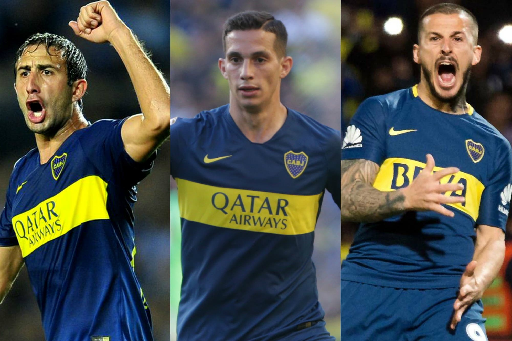 Copa Libertadores: un desafío para Izquierdoz, Marcone y Benedetto, la columna vertebral de Boca
