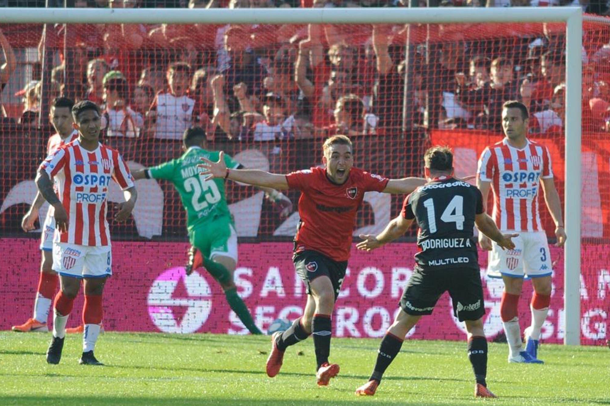 Newell's pasó el duro escollo de Unión 2-0 y empieza a subir en la Superliga