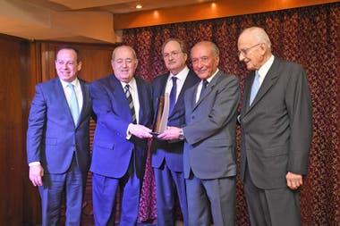 Martín Etchevers, Guillermo Ignacio, Gustavo Vittori, Eduardo Menem y Gregorio Badeni