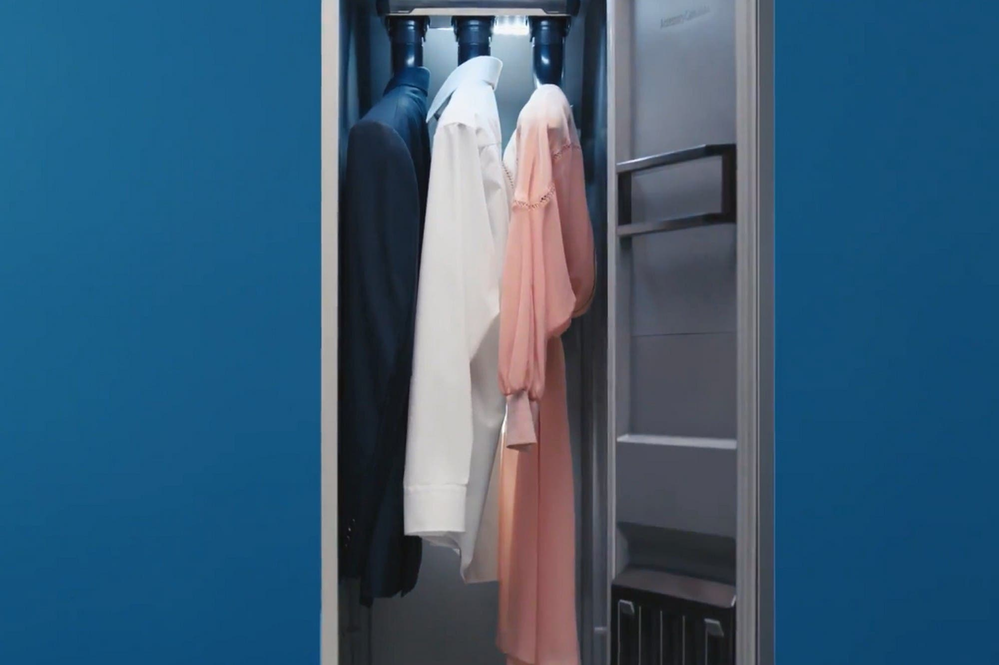 IFA 2019: así funciona AirDresser, el placard que limpia las prendas con vapor