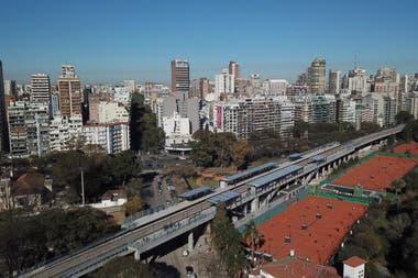 Viaducto Mitre inauguraron la estacin elevada de Lisandro de la Torre en Palermo