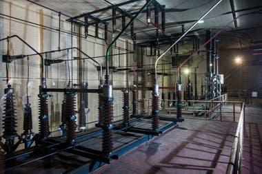 Construida en los años 70 por la Compañía Ítalo Argentina de Electricidad (CIAE).
