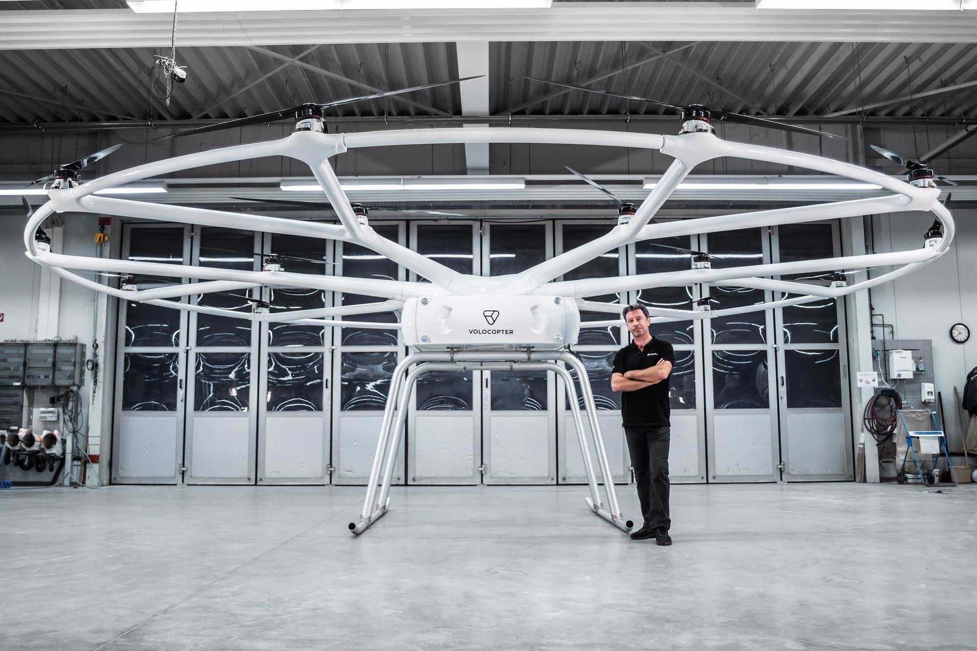 Este es VoloDrone, el impresionante drone que puede cargar hasta 200 kilos