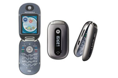 Motorola creía que el Razr era muy masculino, y preparó un segundo modelo, el Pebl, orientado al público femenino