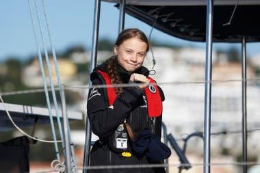 Greta Thunberg, de 16 años, se convirtió en un referente de la lucha contra el cambio climático en el mundo.