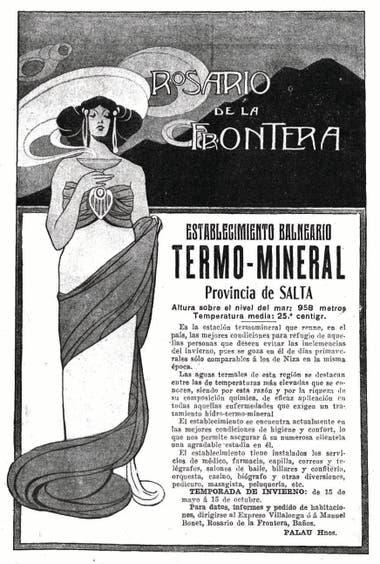Publicidad de 1911.