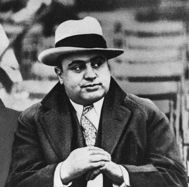Al Capone fue uno de los gángsters más importantes de la historia. Fuente: Internet.