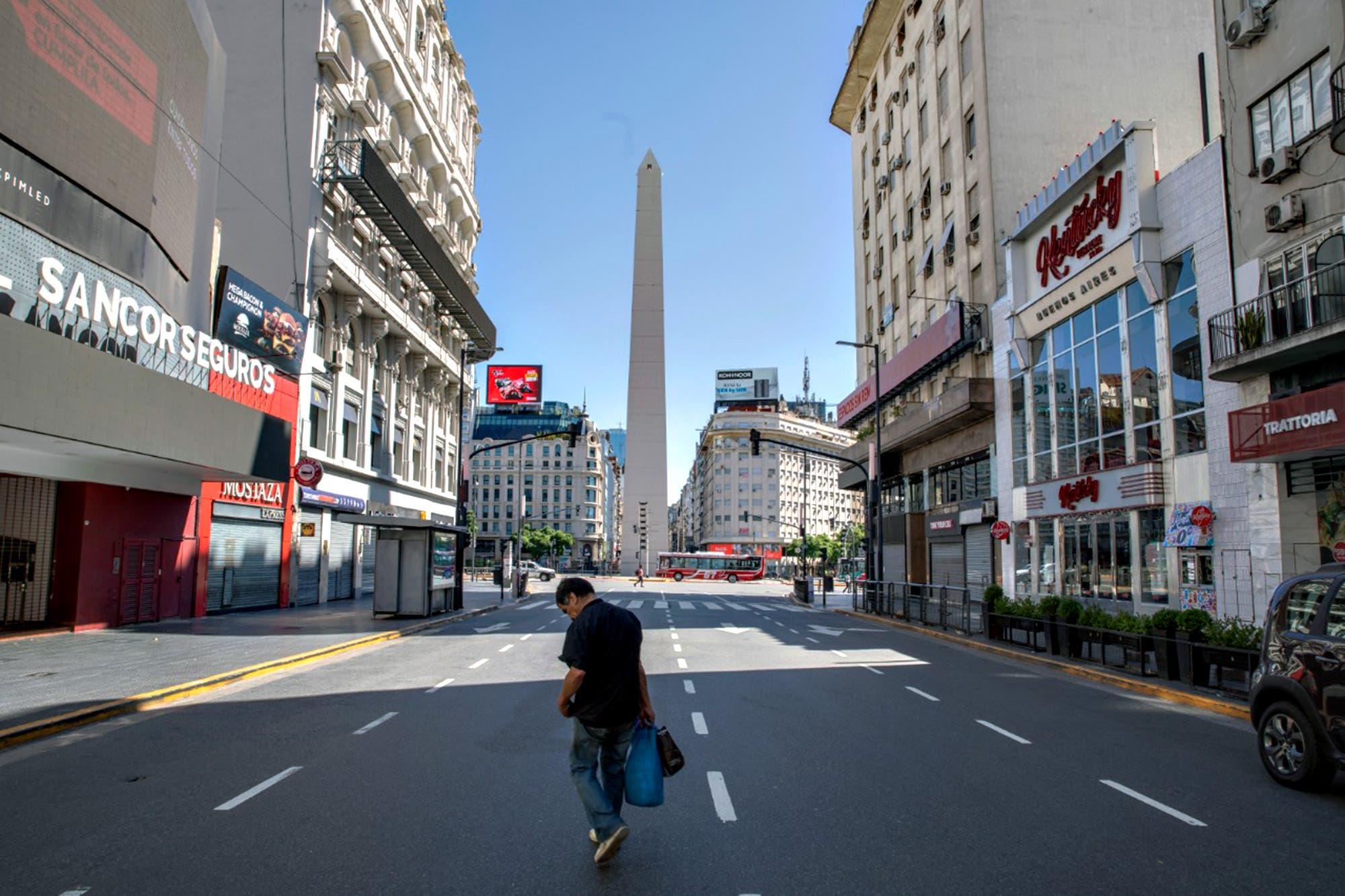 Índice de movilidad: menos gente en la calle, pero más que al inicio de la cuarentena