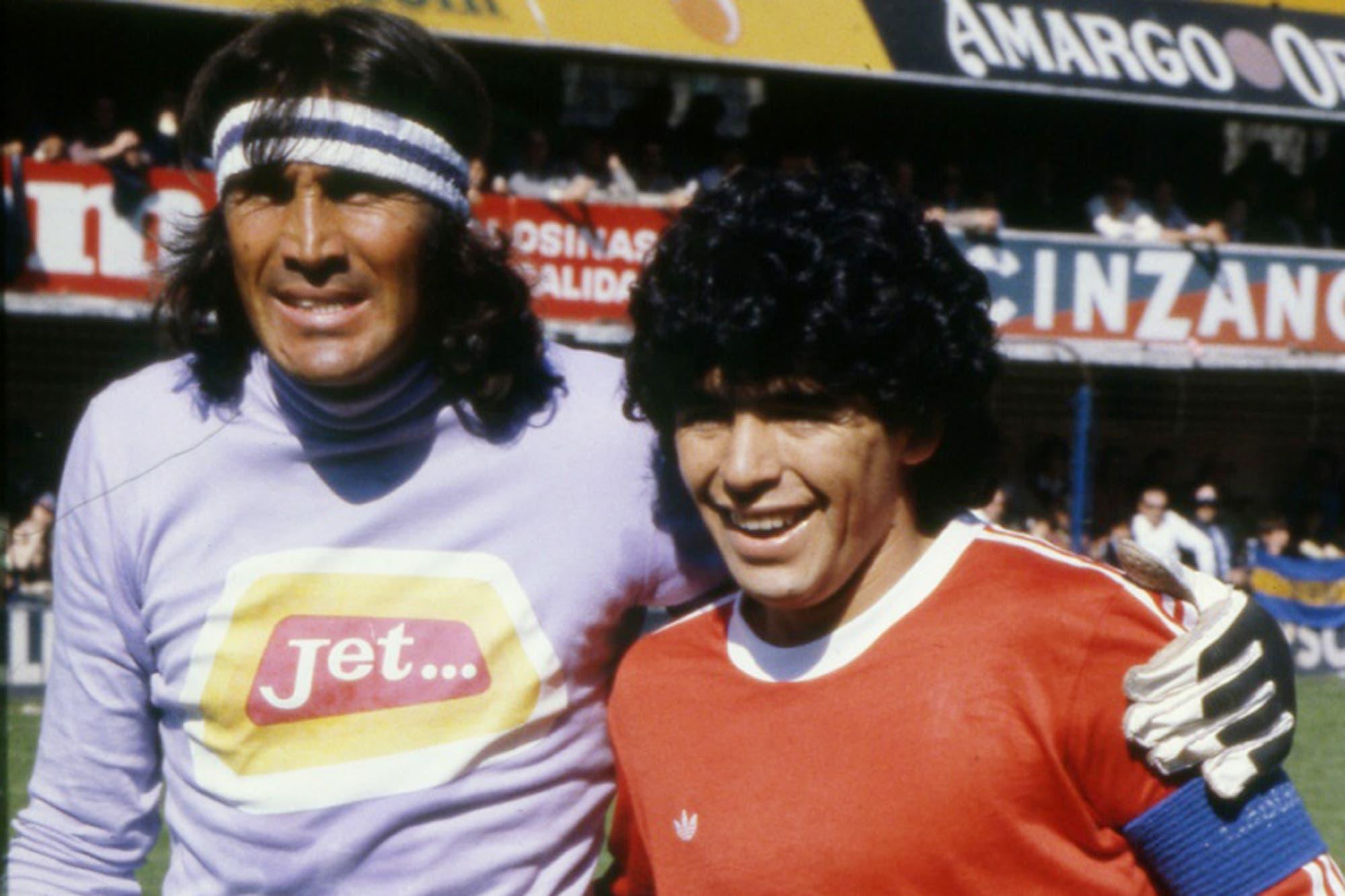 Coronavirus. El mensaje de Diego Maradona para Hugo Gatti, internado en España