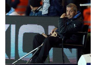 Tabárez (73 años) fue reconocido con el Récord Guinness en 2019 por dirigir 200 partidos en la selección uruguaya.