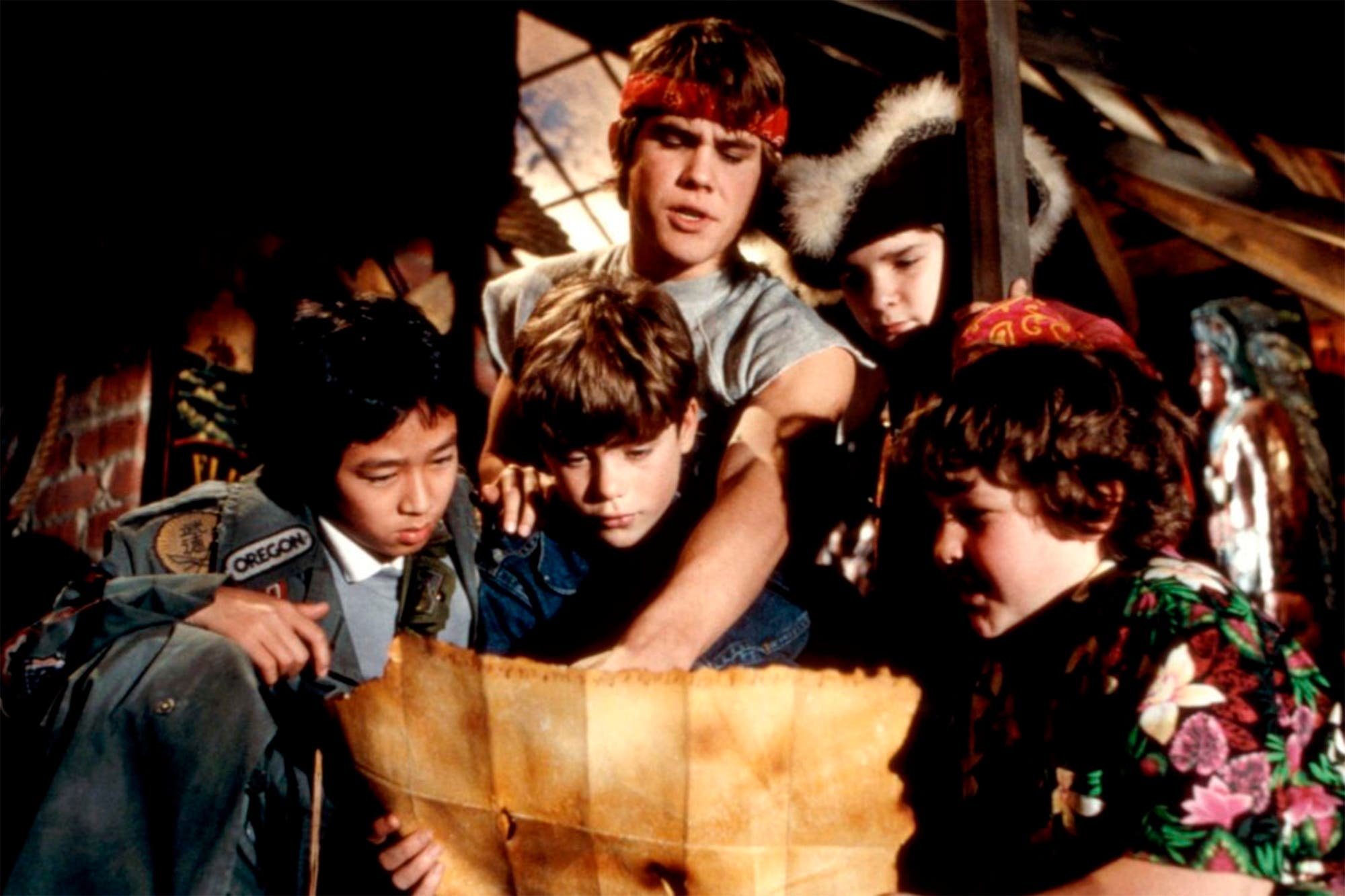 El reencuentro del elenco de Los Goonies, 35 años después